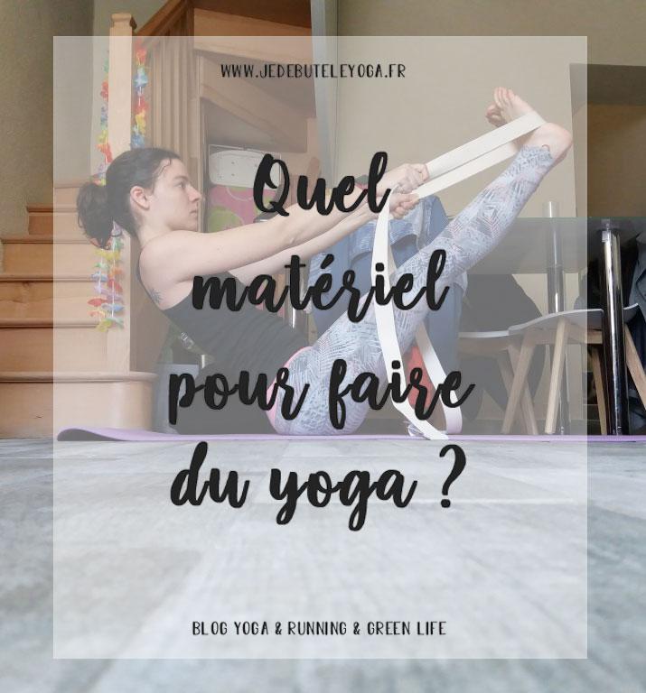 quel materiel pour faire du yoga