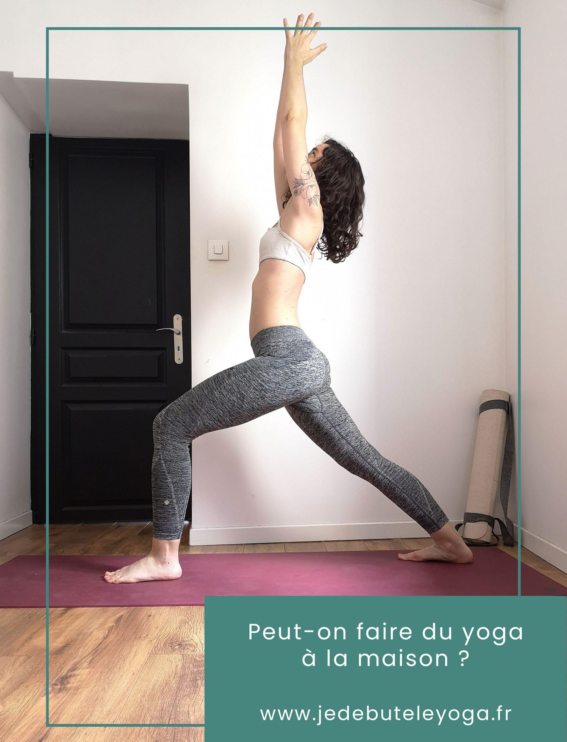 peut-on faire du yoga à la maison