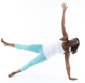 Planche latérale yoga