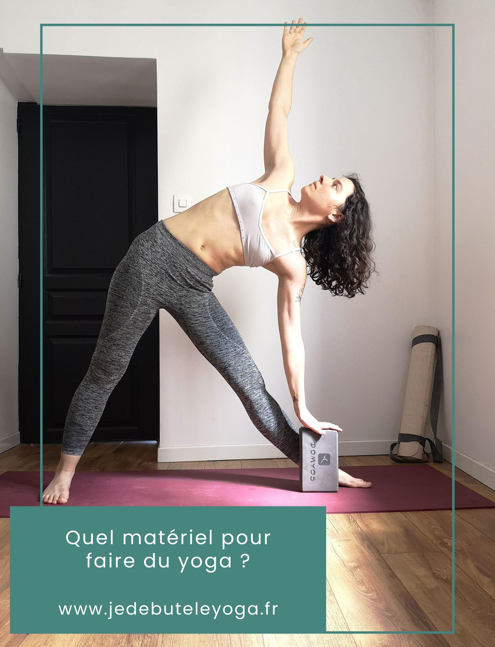 quel matériel nécessaire pour faire du yoga