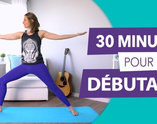 Vidéo : séance de yoga pour débutant
