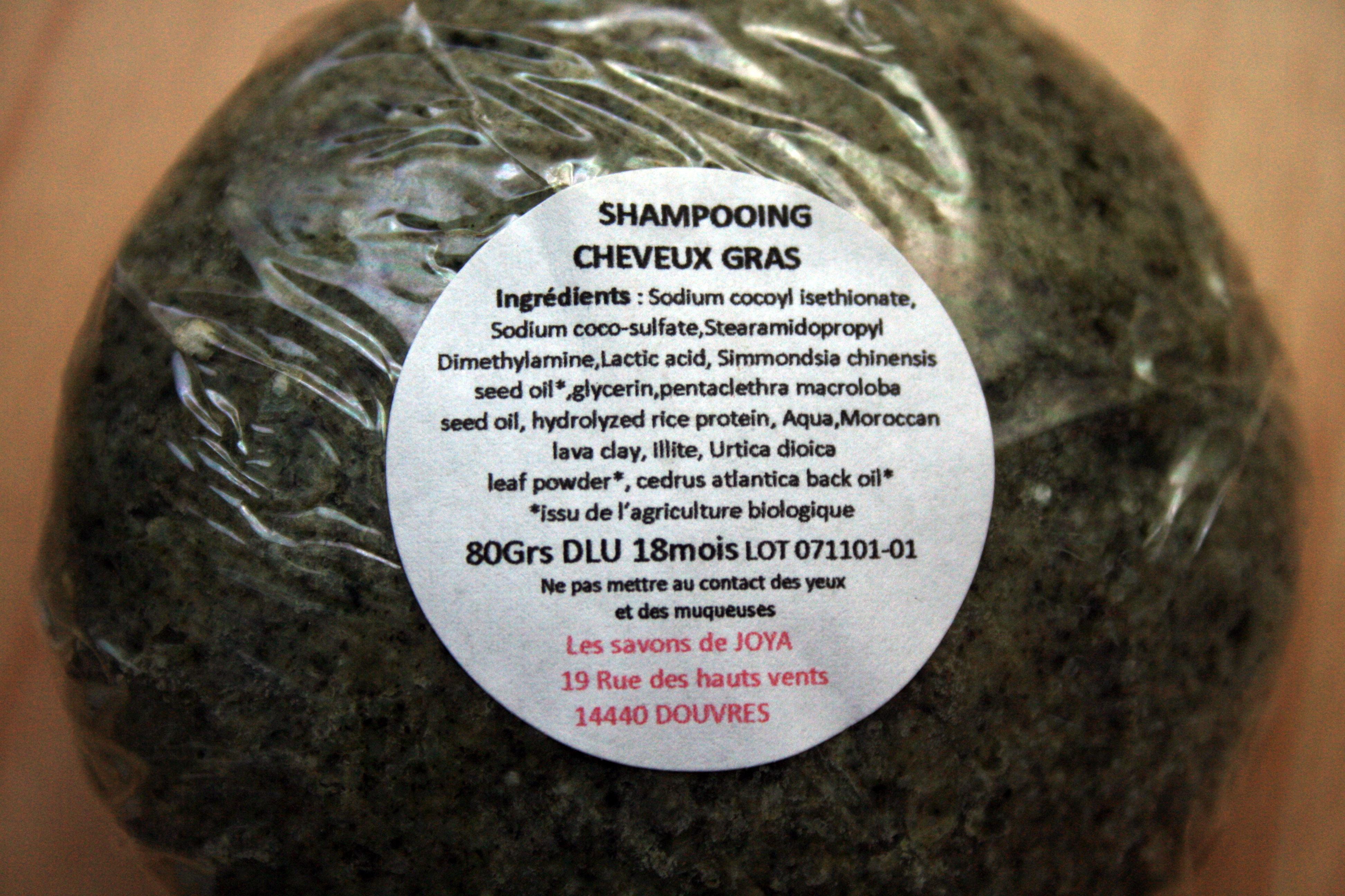 Shampoing solide Savons de joya