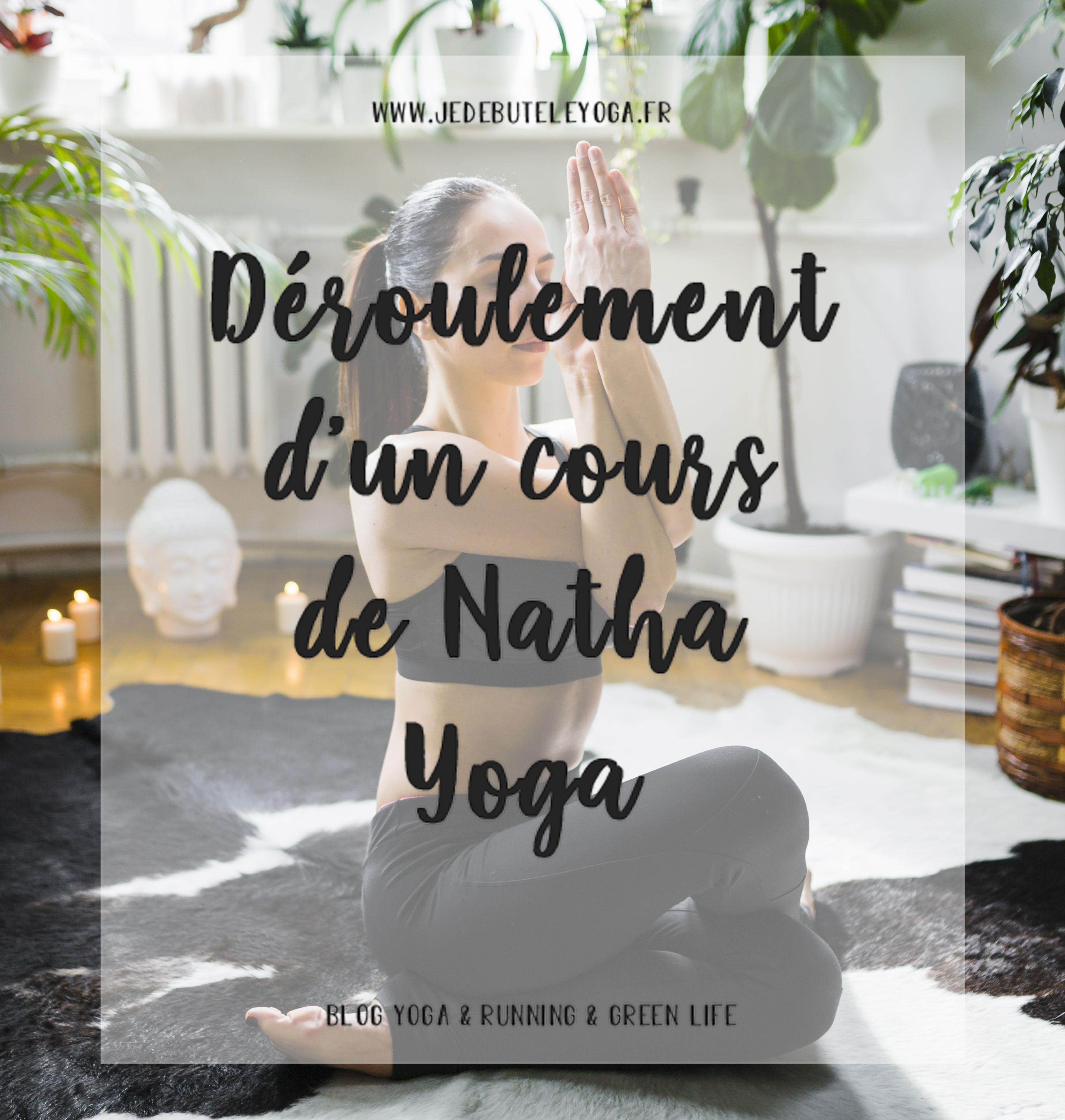 déroulement d'un cours de natha yoga