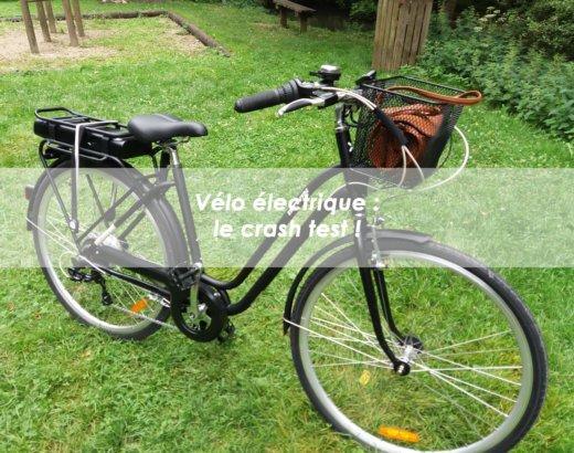 Vélo électrique : le crash test !