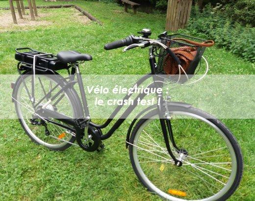 J'ai testé le vélo électrique en 2017