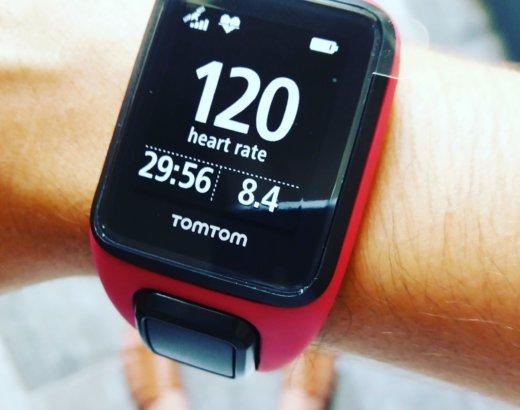 Ma nouvelle montre Tomtom runner 3
