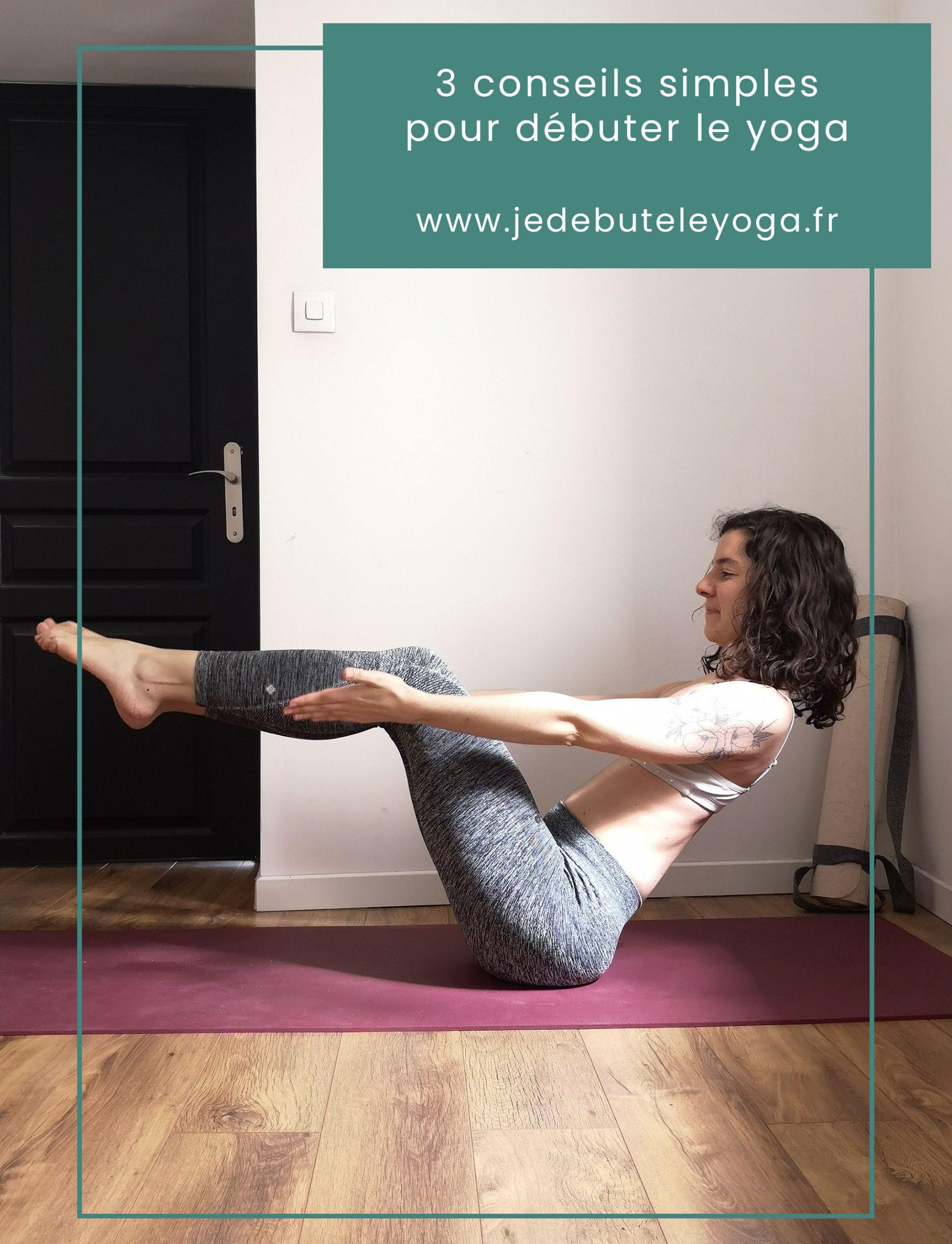 3 conseils pour se mettre au yoga simplement