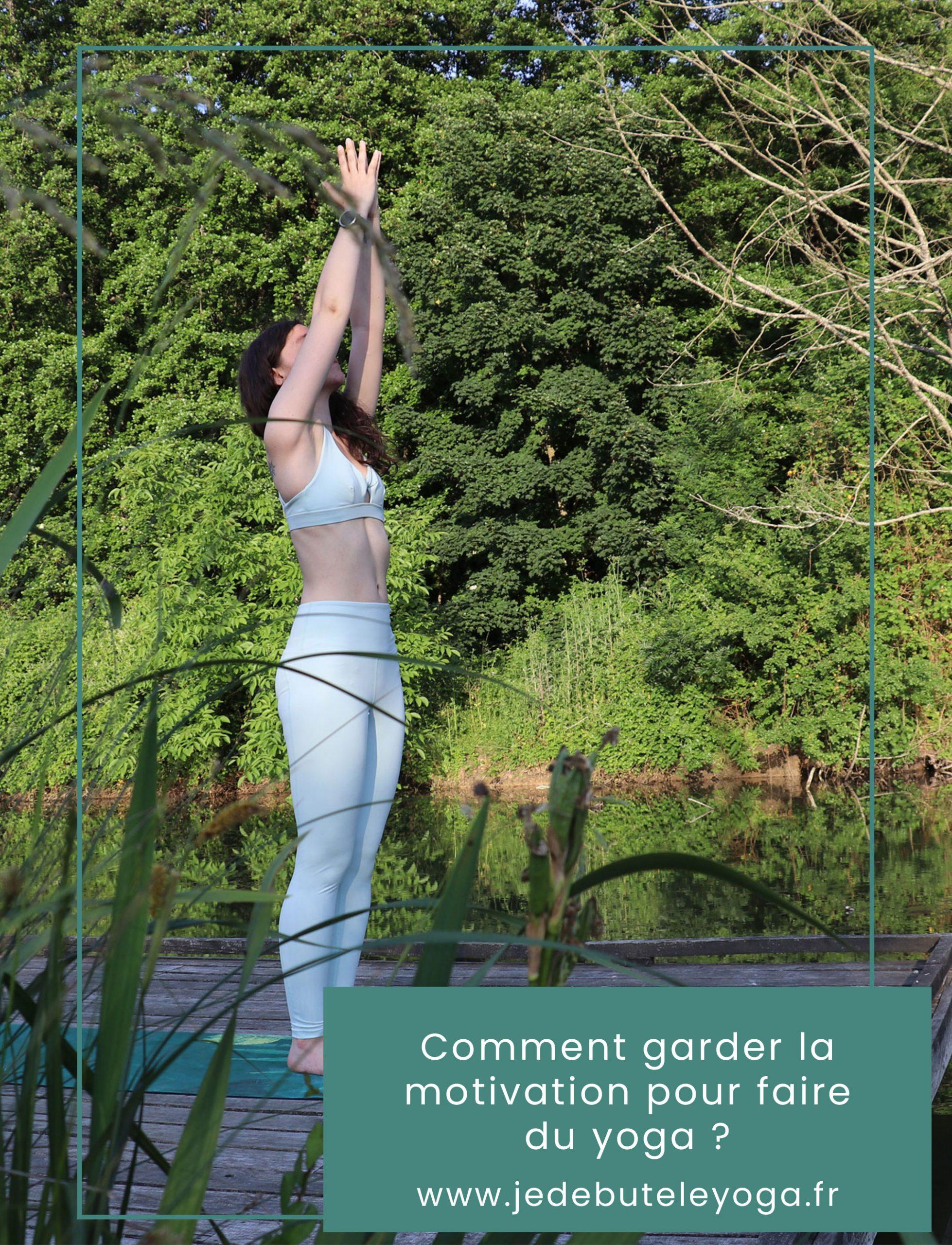 garder la motivation pour faire du yoga