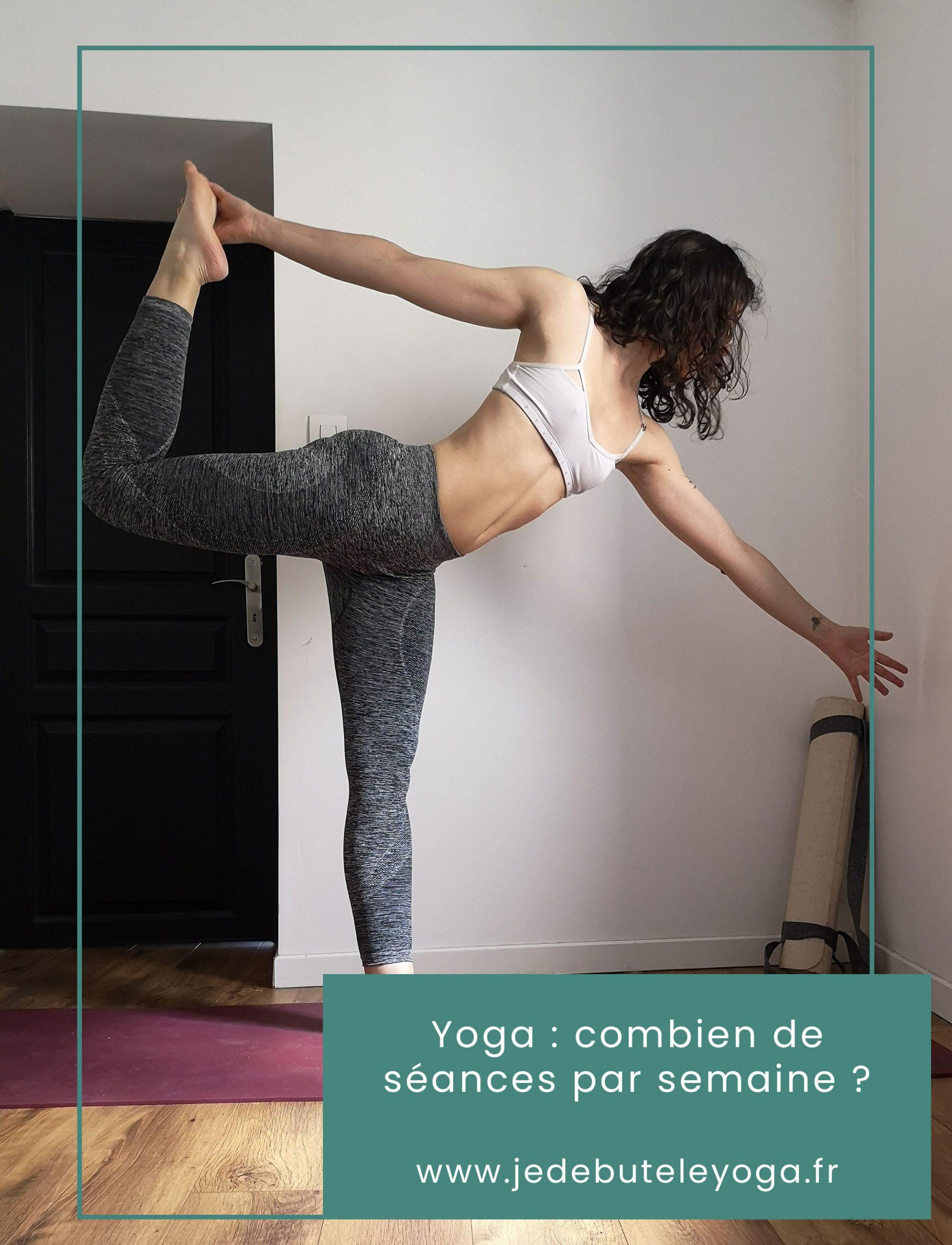 combien de séance de yoga par semaine ?