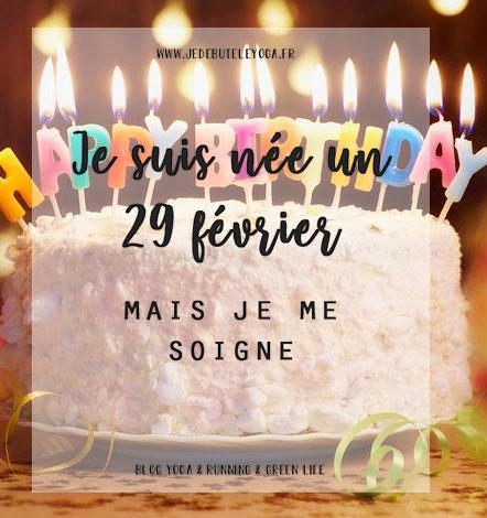 je suis née un 29 février