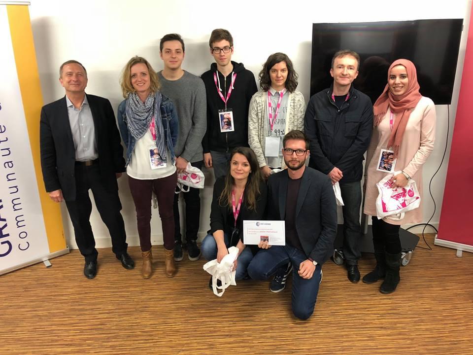 3eme place au Start-up week-end