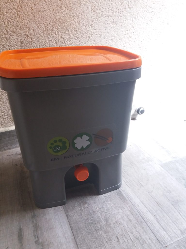 composteur d'appartement bokashi