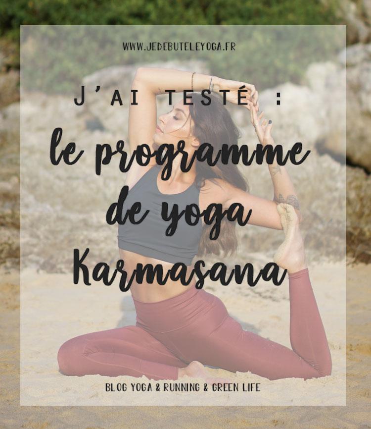 j'ai testé le programme de yoga karmasana de georgia horackova