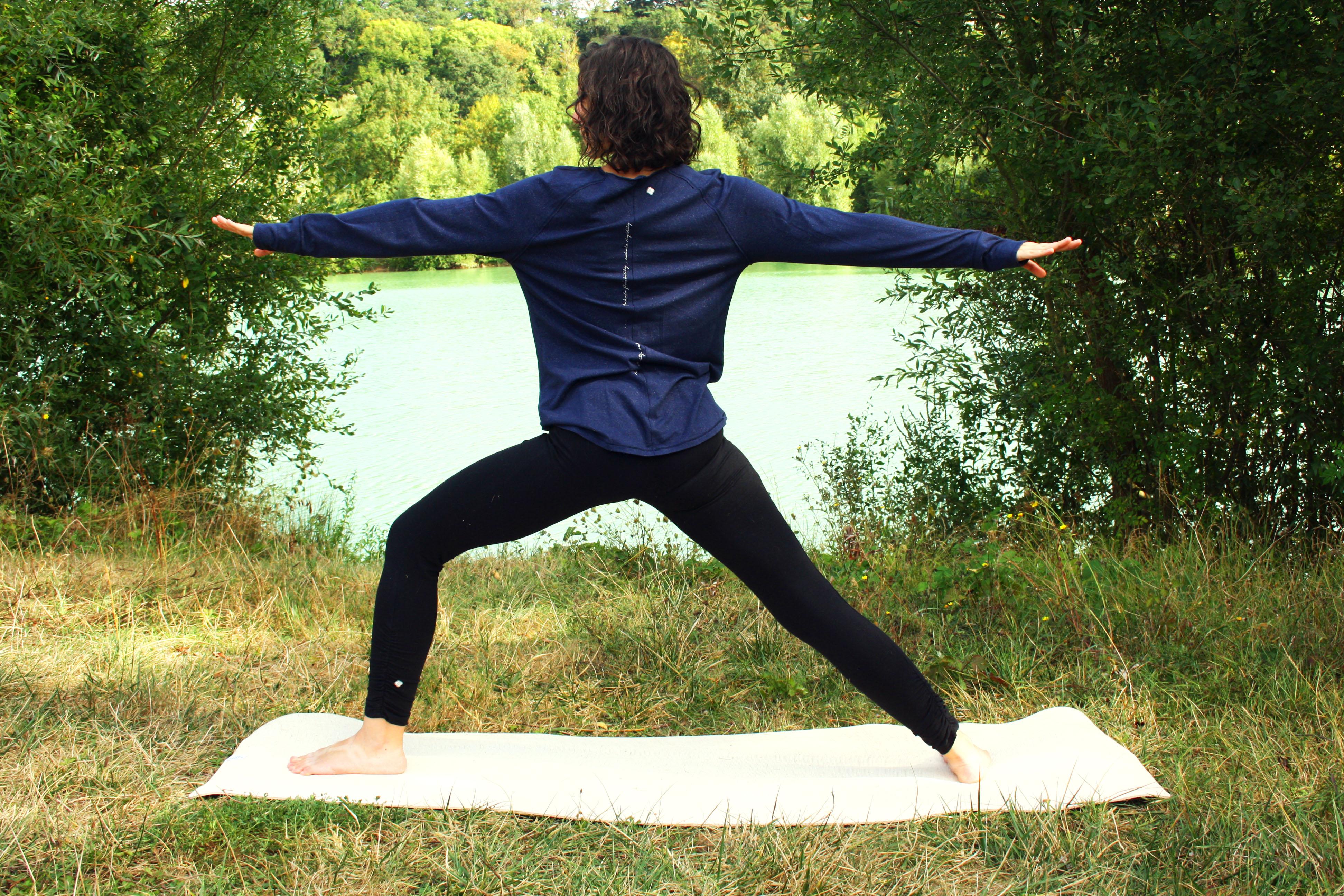 guerrier deux yoga