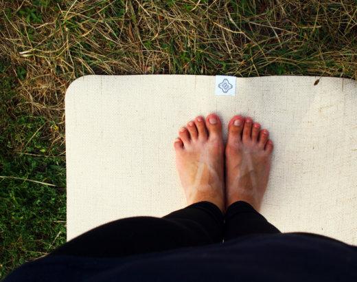 Carnaval d'articles entre blogueurs : nos postures de yoga préférées !