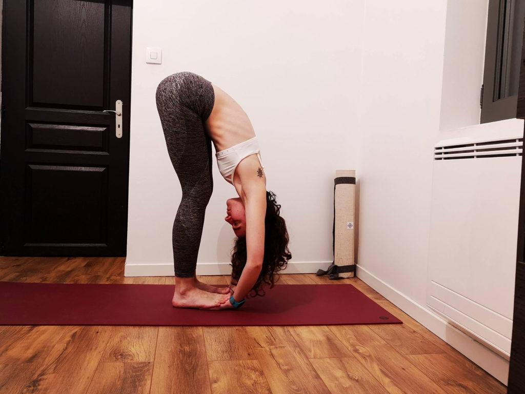 posture pince debout ashtanga