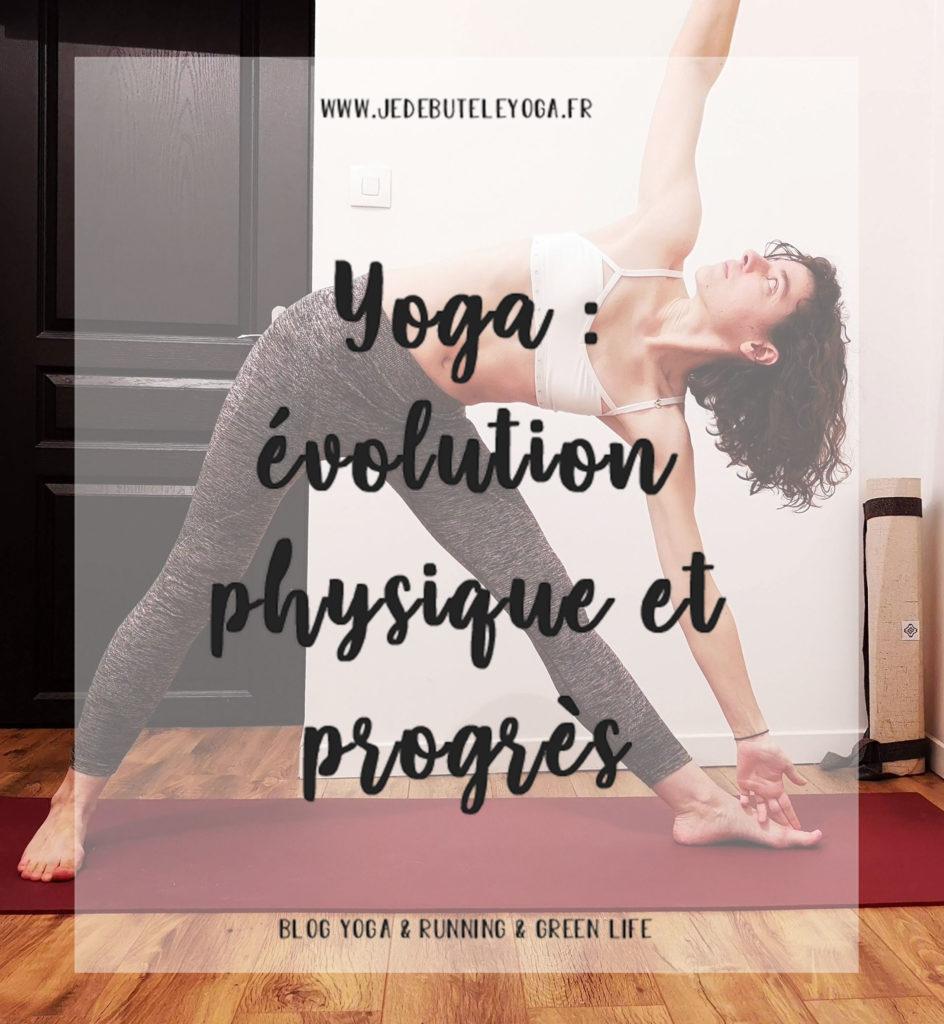 evolution physique et progres en yoga