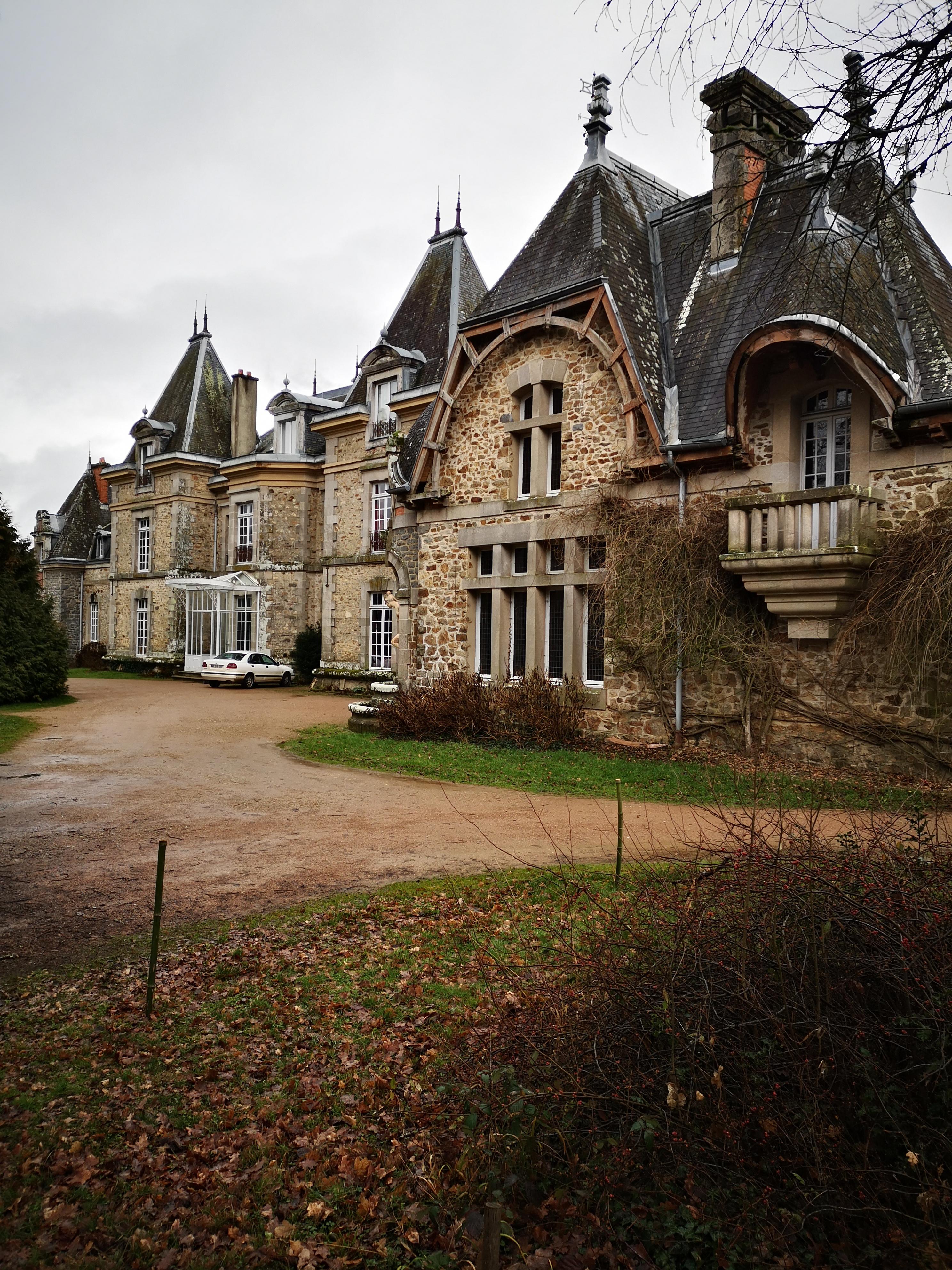 Chateau de Ligoure à Limoges