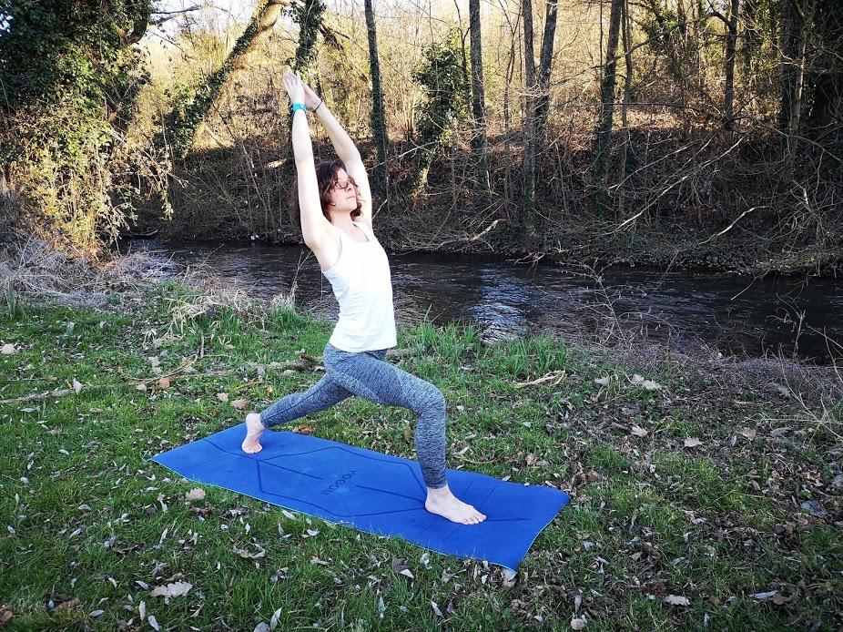 Tapis de yoga YOGOM, anjaneyasana