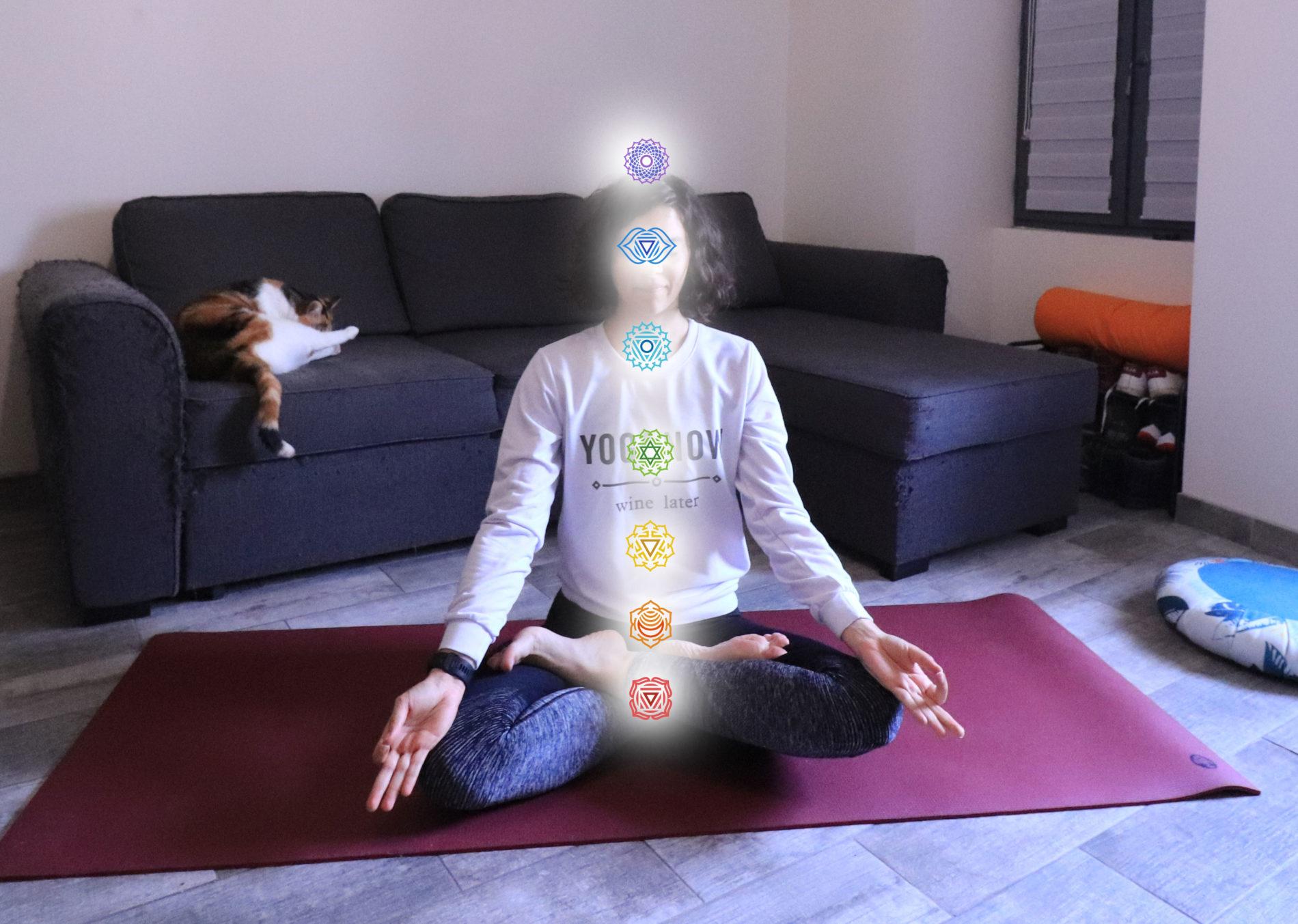 Les 7 chakras du yoga