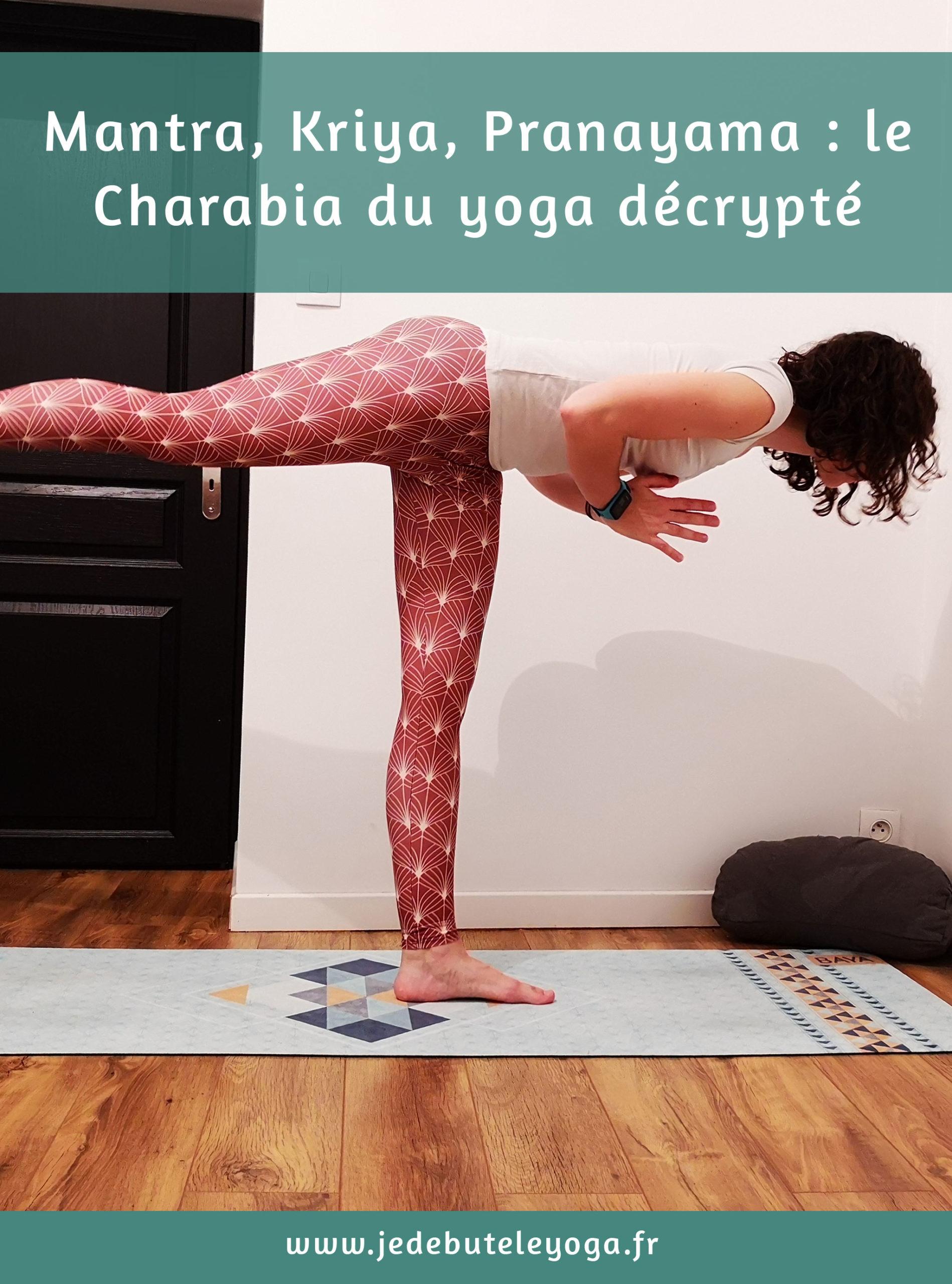 Mantra, kriya, pranayama, les termes du yoga décryptés