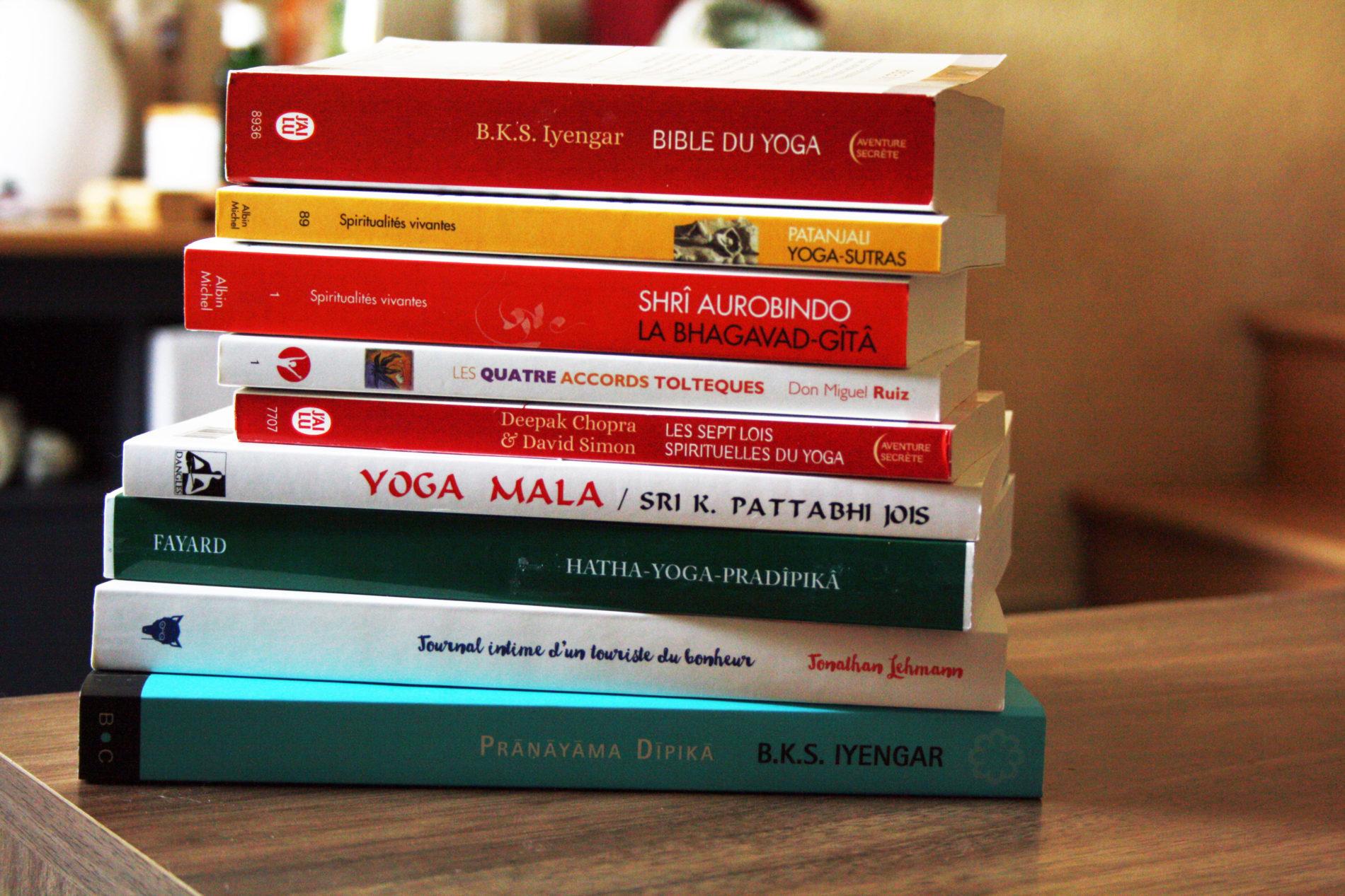 idées de livres sur le yoga