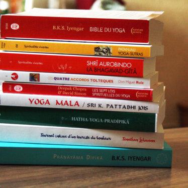 Des idées de livres sur le yoga