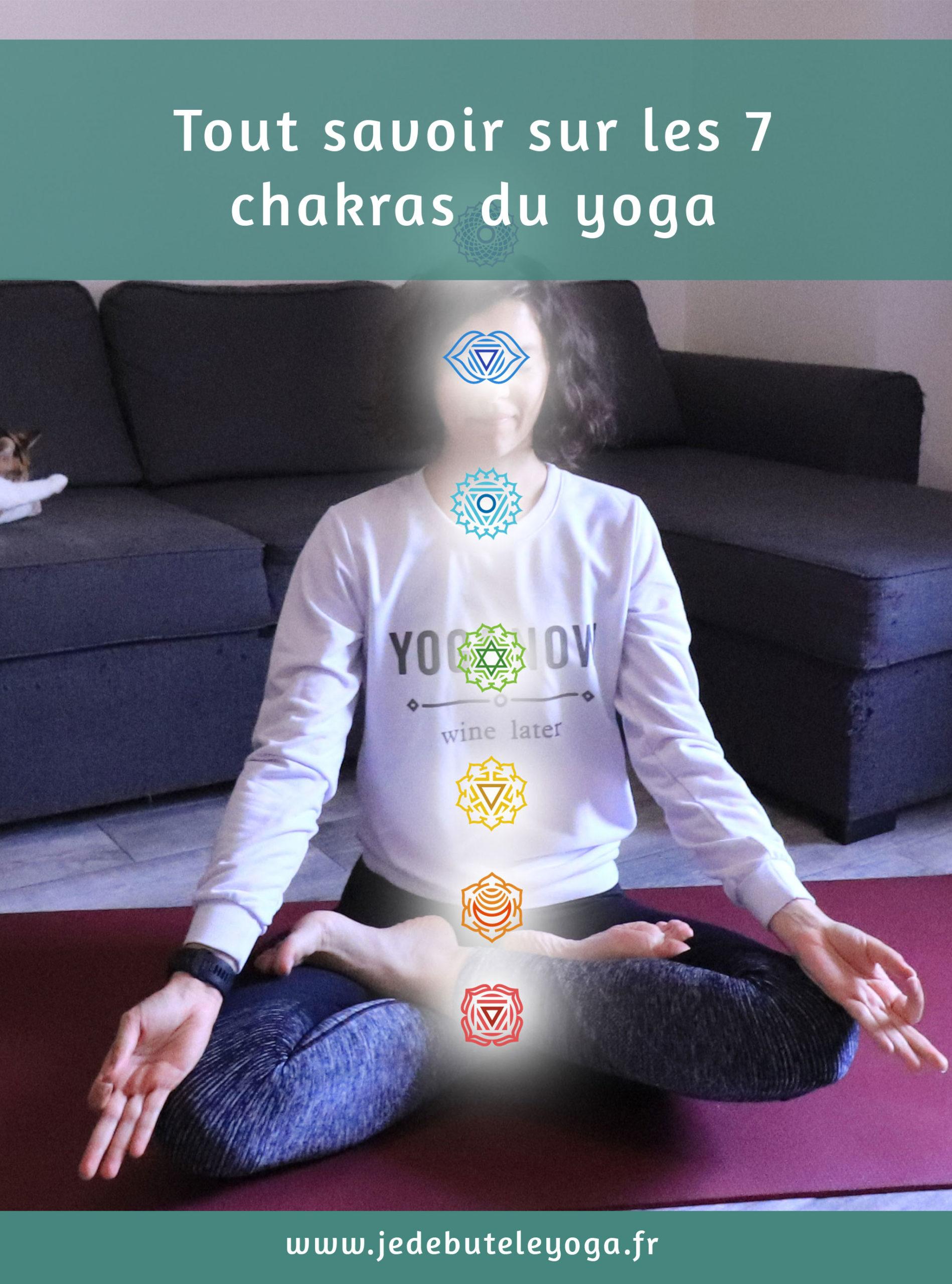 Explications sur les sept chakras du yoga