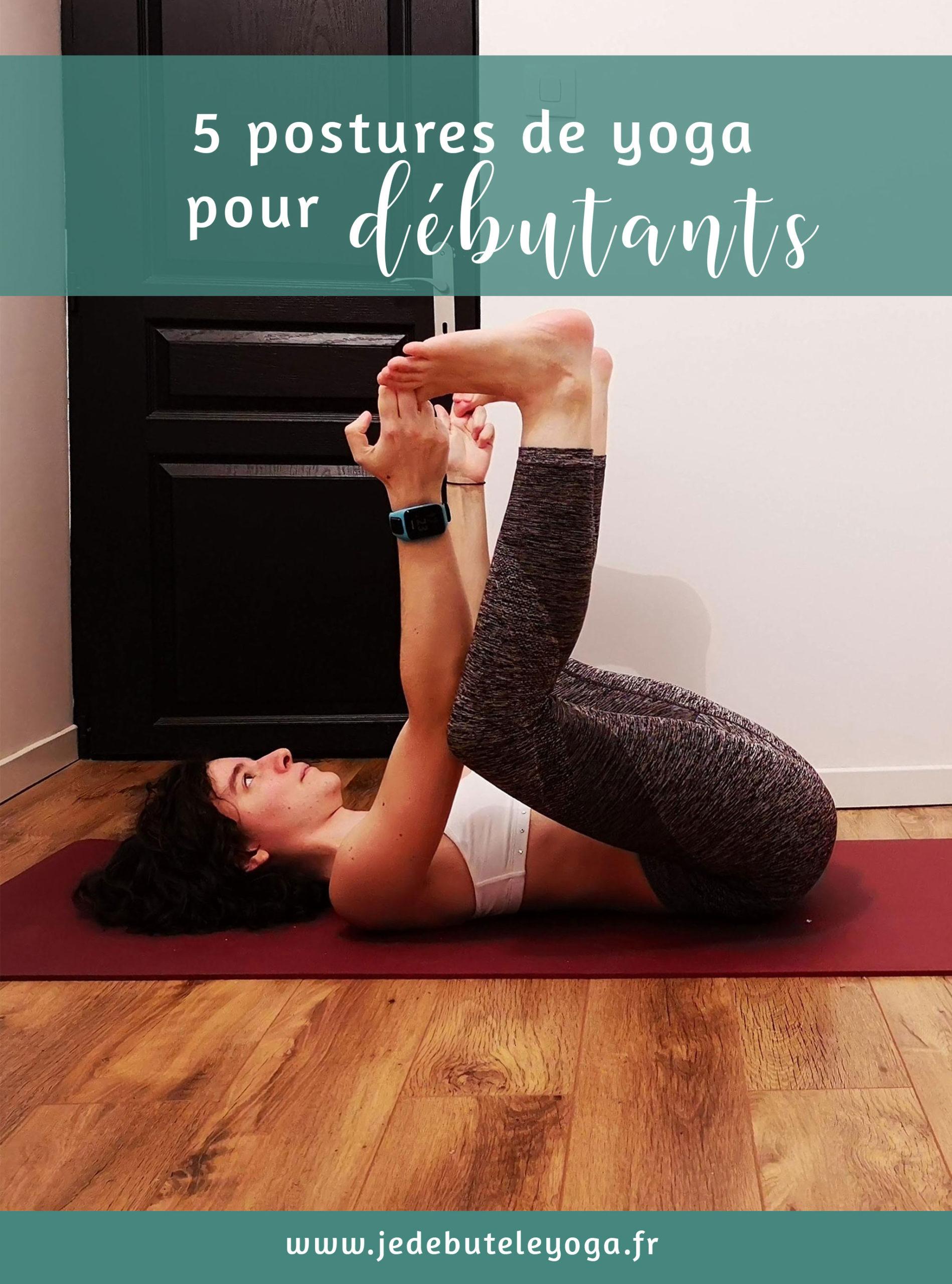 5 postures de yoga pour les grands débutants