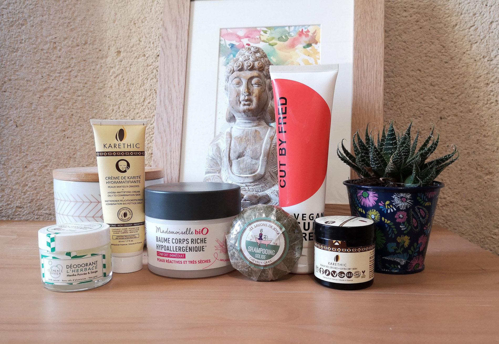 6 produits cosmétiques vegan que j'adore