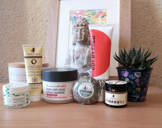 6 produits cosmétiques vegan que j'adore !