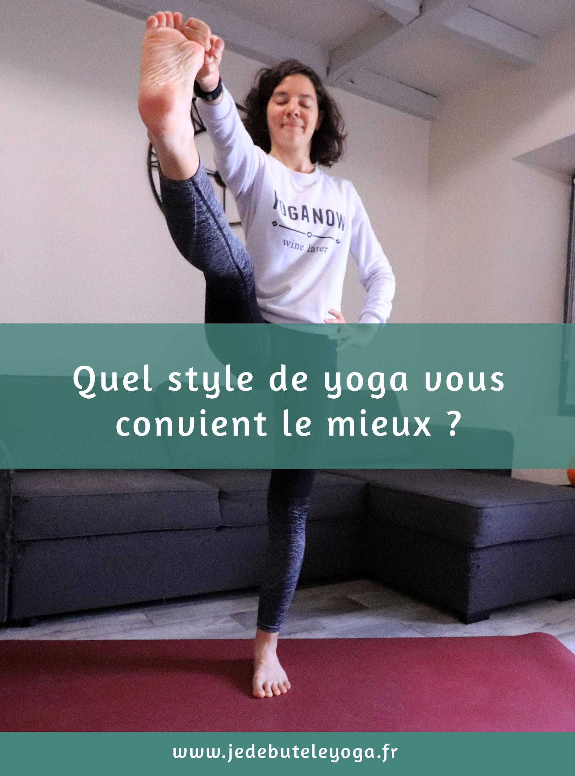 épingle pinterest quel style de yoga vous va le mieux