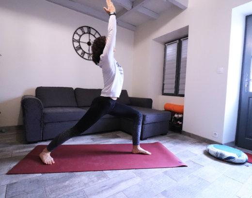 Yoga : focus sur les postures du Guerrier