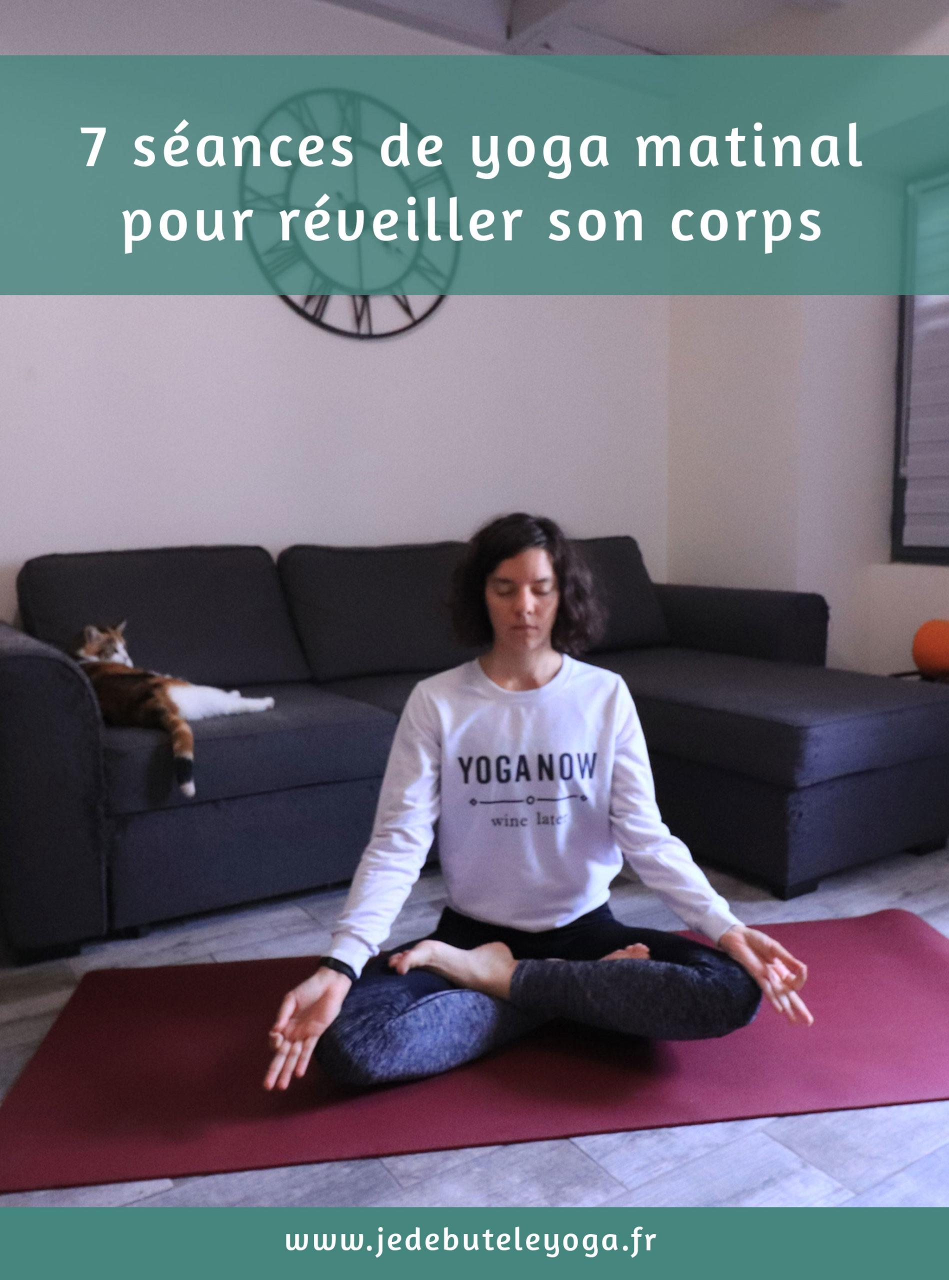 7 séances de yoga du matin pour réveiller son corps
