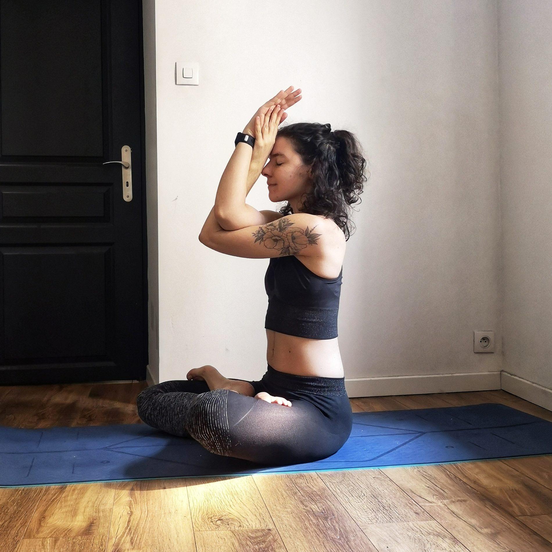 partages de yogi - posture du lotus