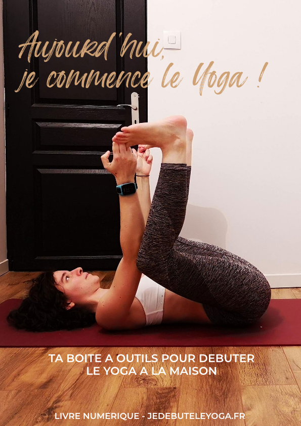 couverture ebook je commence le yoga