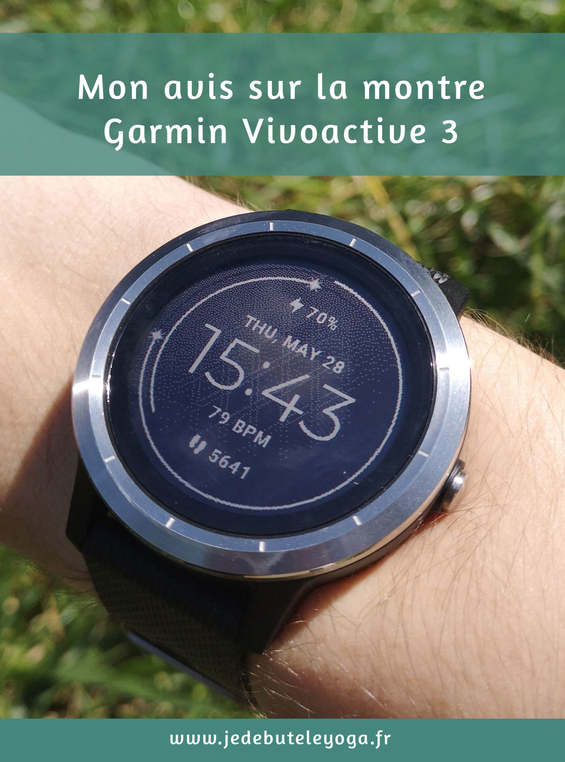 test montre garmin vivoactive 3