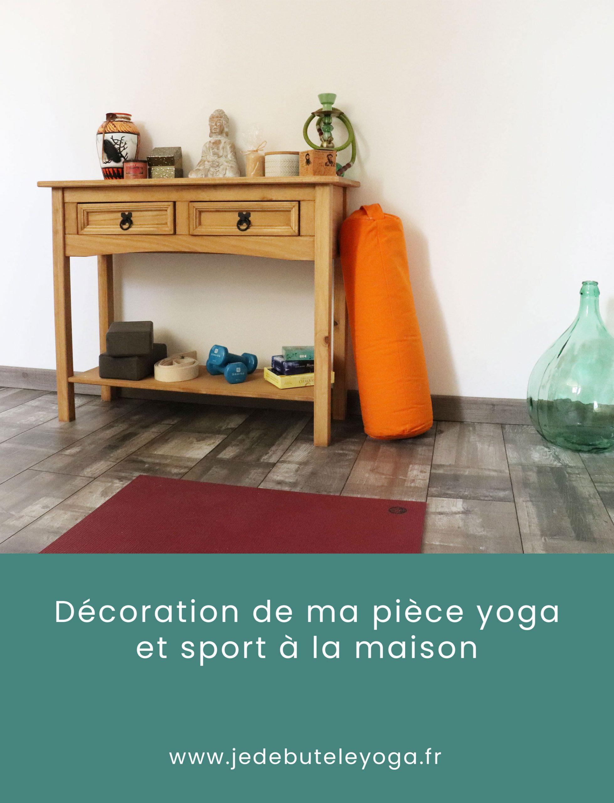 décorer sa pièce yoga