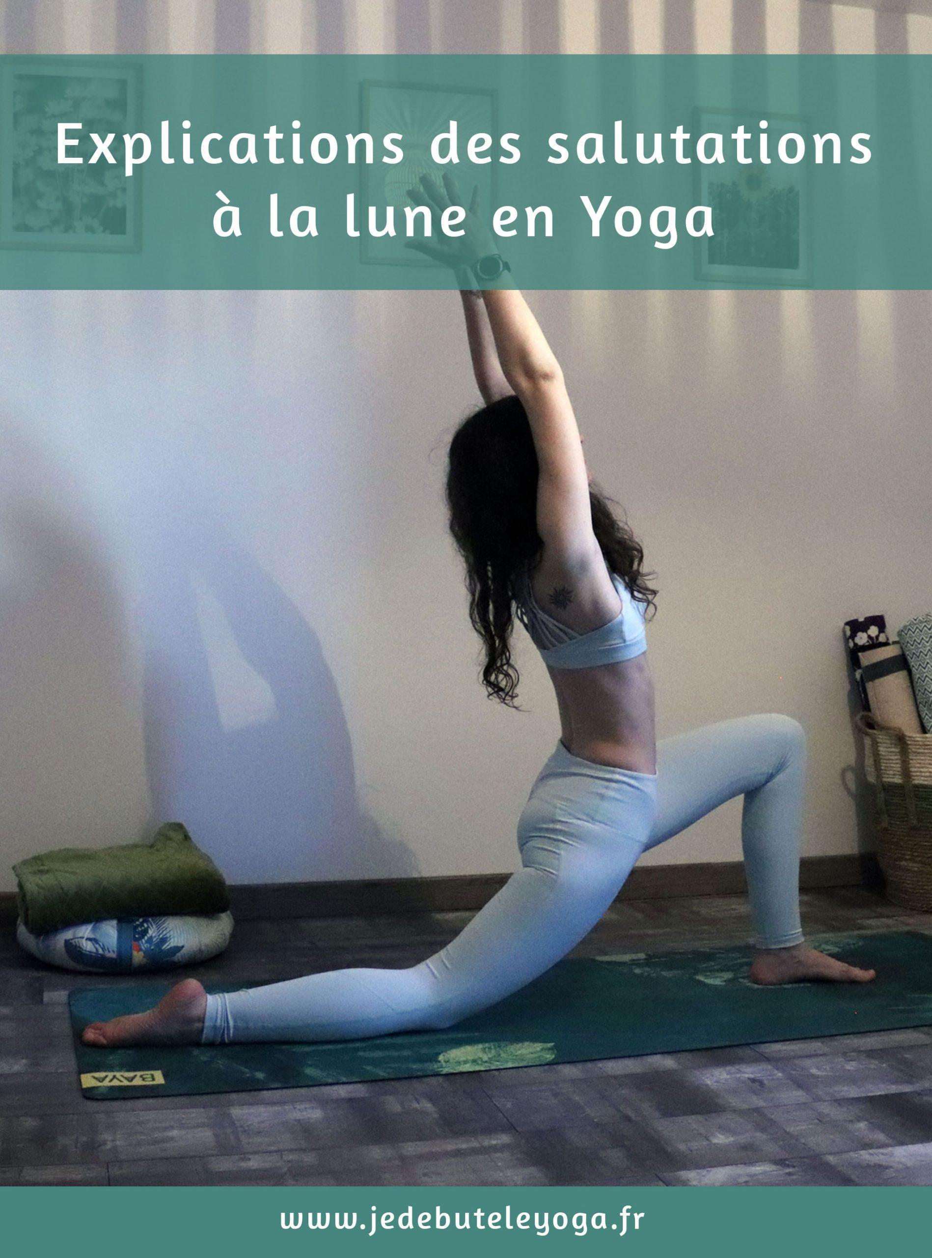 les salutations à la lune en yoga