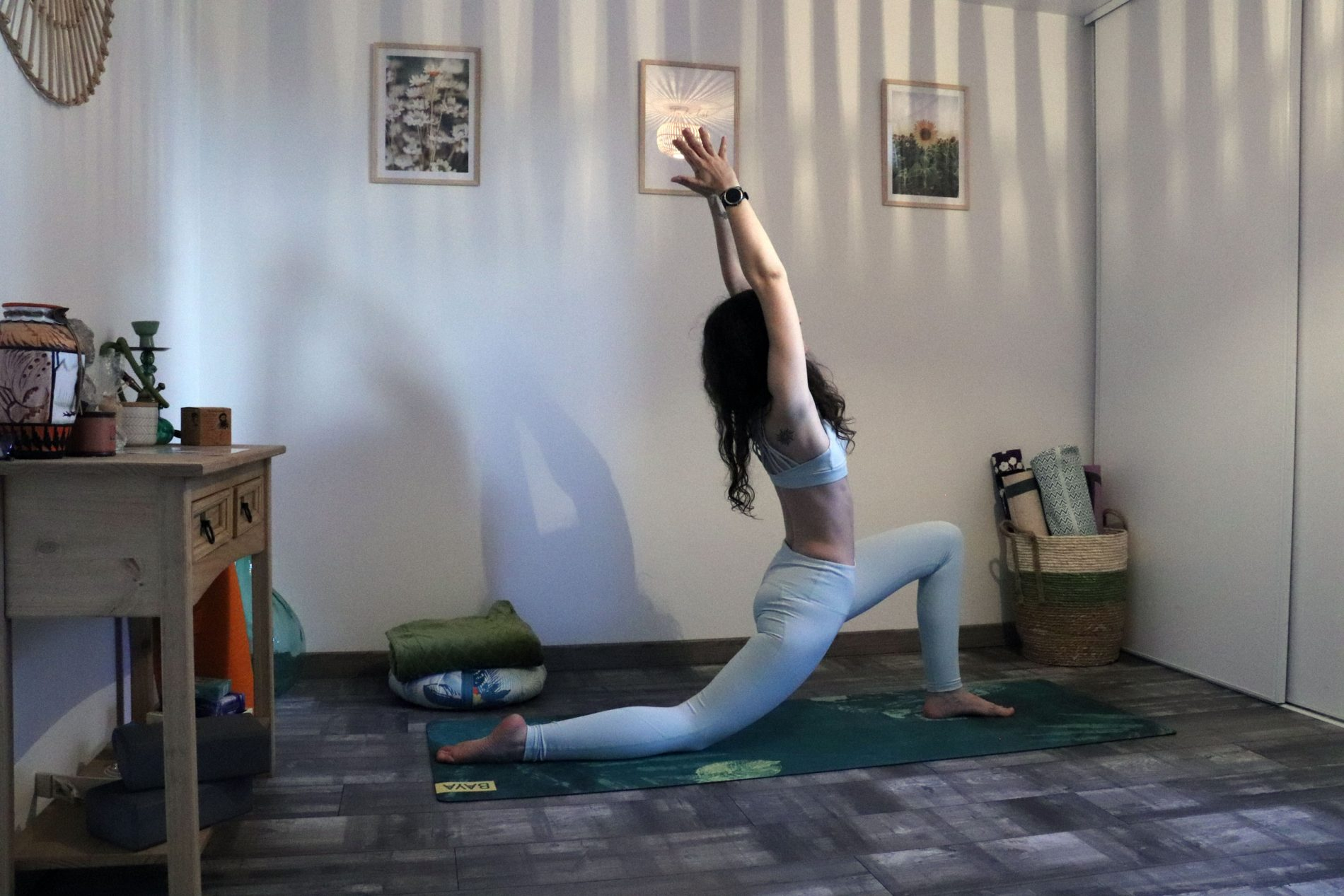 explication des salutations à la lune en yoga
