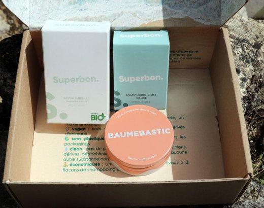 Revue des cosmétiques solides Superbon