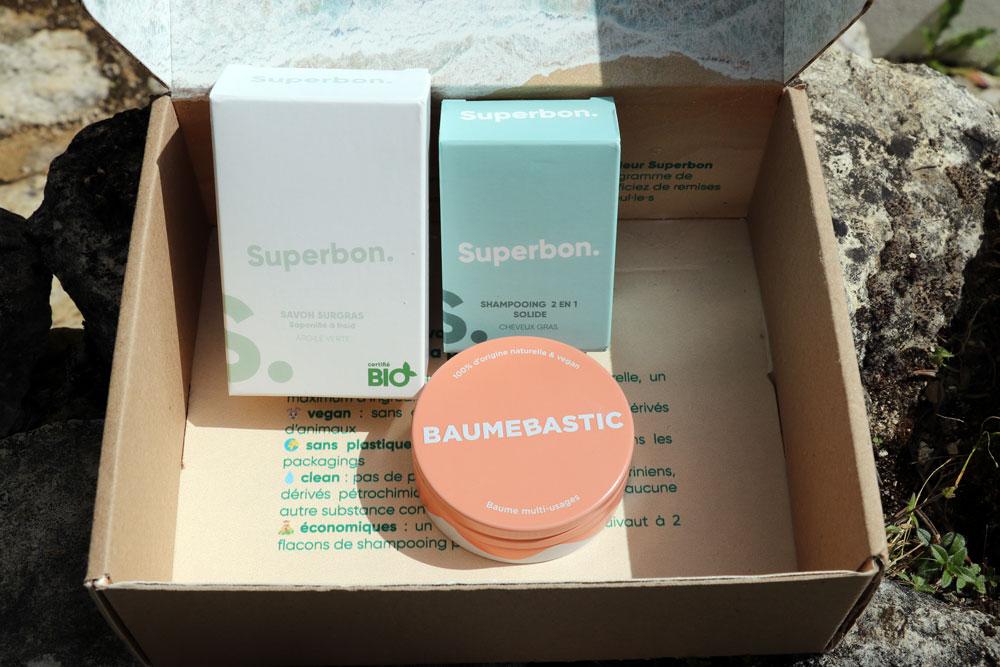 Cosmetiques naturels Superbon