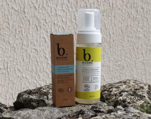 Mon avis sur les produits Biosme peau grasse [CODE PROMO]